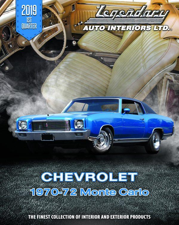 Chevrolet Monte Carlo Catalog