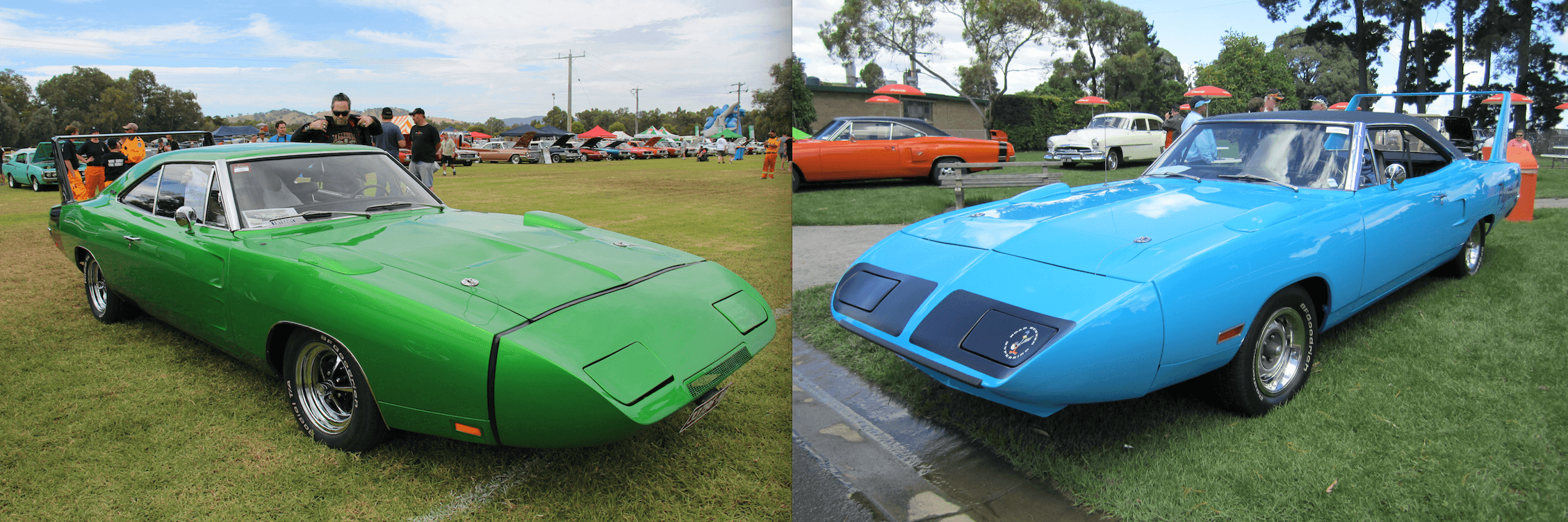 tale of the tape the 1969 70 dodge charger daytona vs the 1970