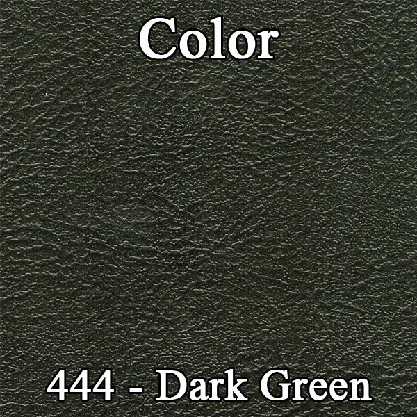 72 Duster Dart Swinger Bench Front Panels Dark Green