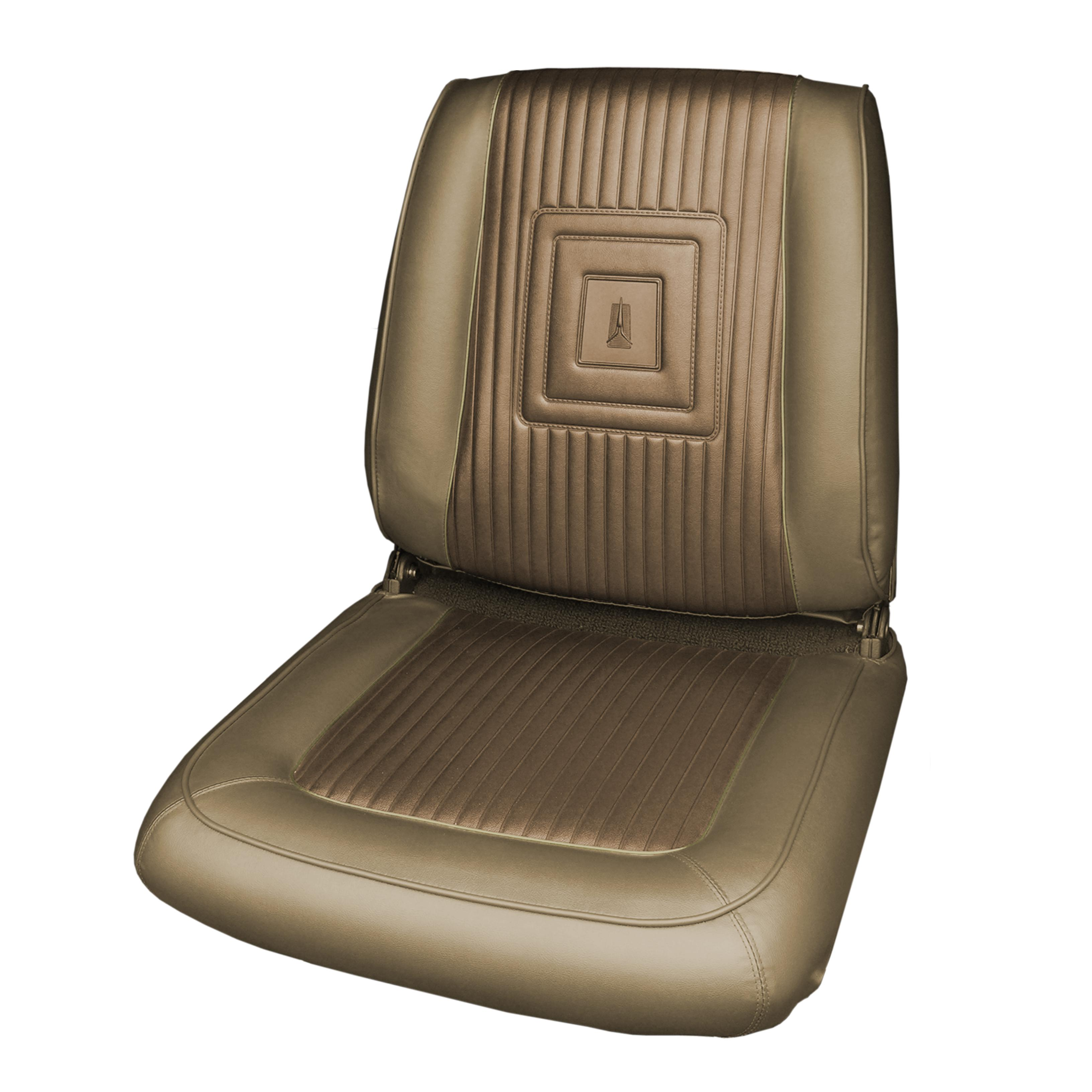 1d5f1fcd44d 65 SATELLITE BUCKET SEAT UPH LSRM DK METALLIC GOLD GOLD