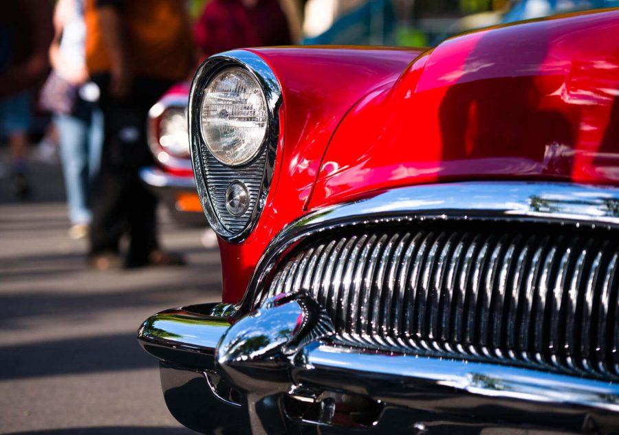Classic Car Restoration Front End Grille