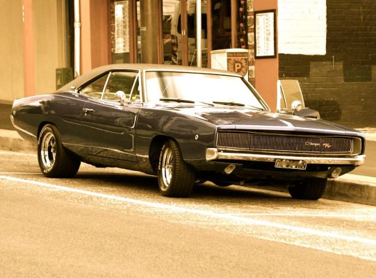 1968 Dodge Charger with Vinyl Top