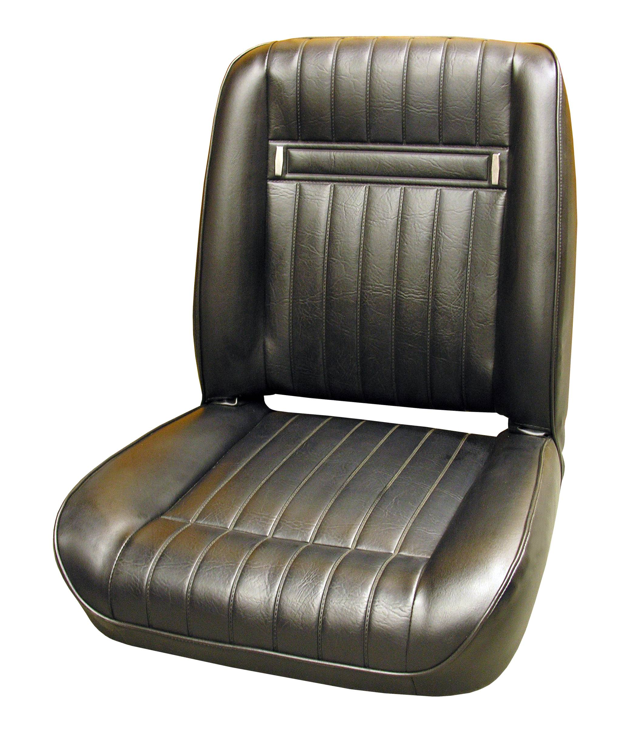 76 79 Dodge Truck D W Series Bucket Seat Upholstery Black Legendary Auto Interiors
