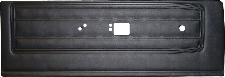 68 Barracuda Standard Door Panels Black Legendary Auto