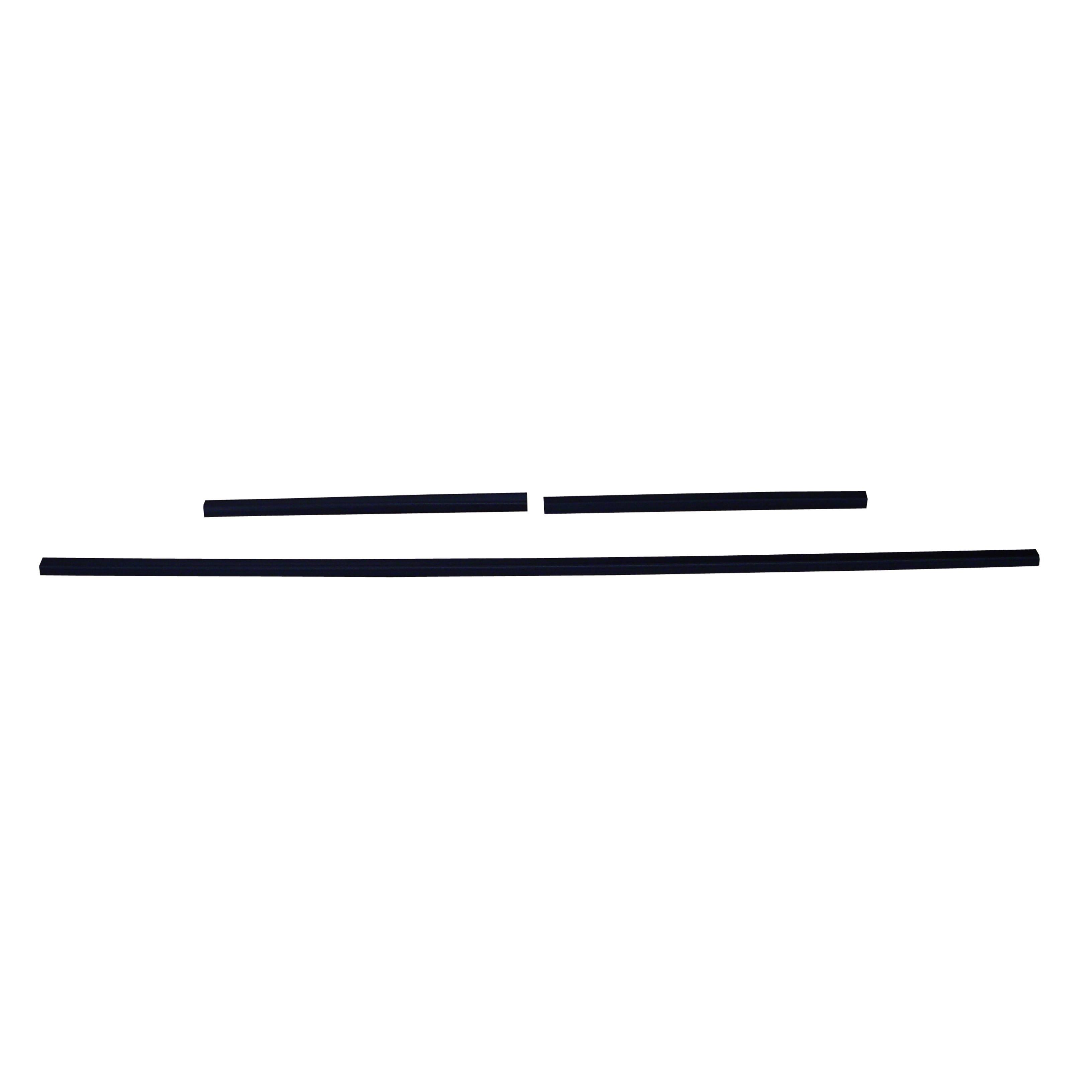 64/65 CHEVELLE/MALIBU REAR WINDOW TRIM - 3 PIECE