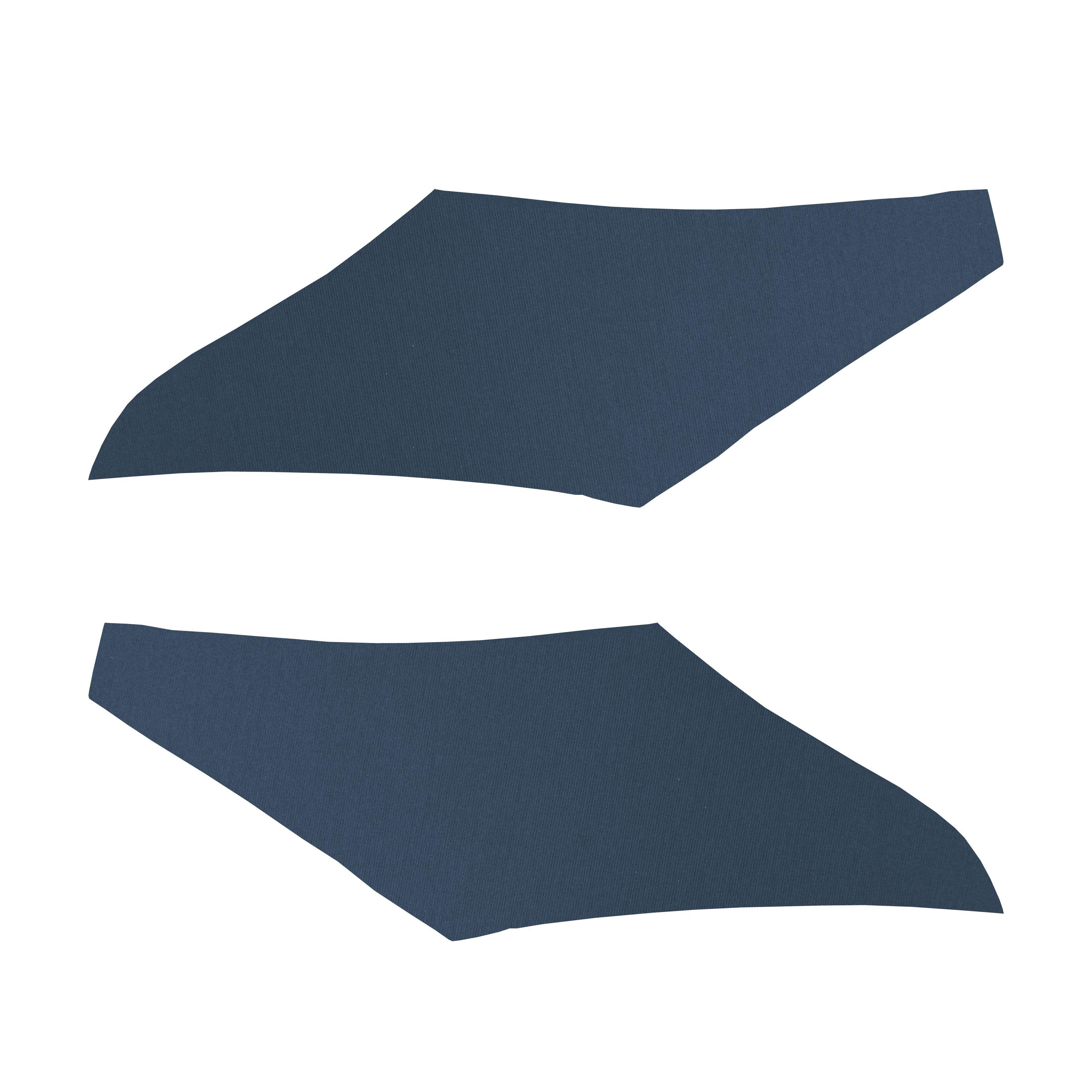 68/69 CHEVELLE/MALIBU SAIL PANELS - RIBBED DARK BLUE