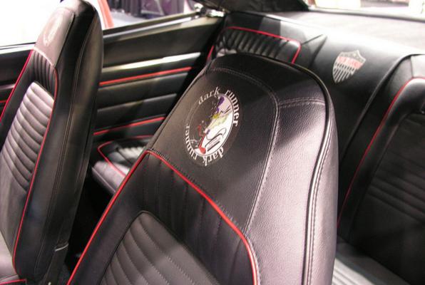 Vinyl car interior