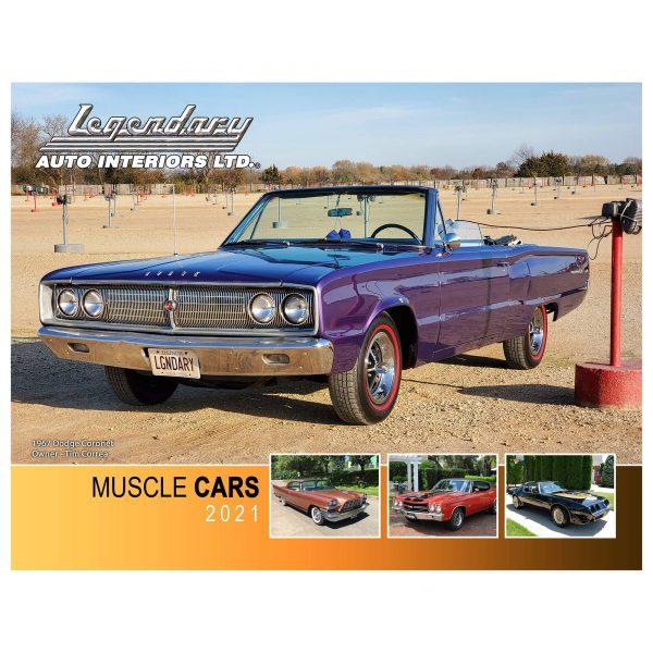 Legendary Auto Calendar Front Cover